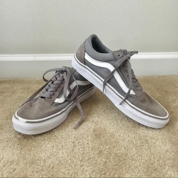 vans old skool canvas suede frost
